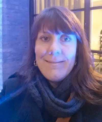 Carolina Eneström blev vittne till bussolyckan i Lund.