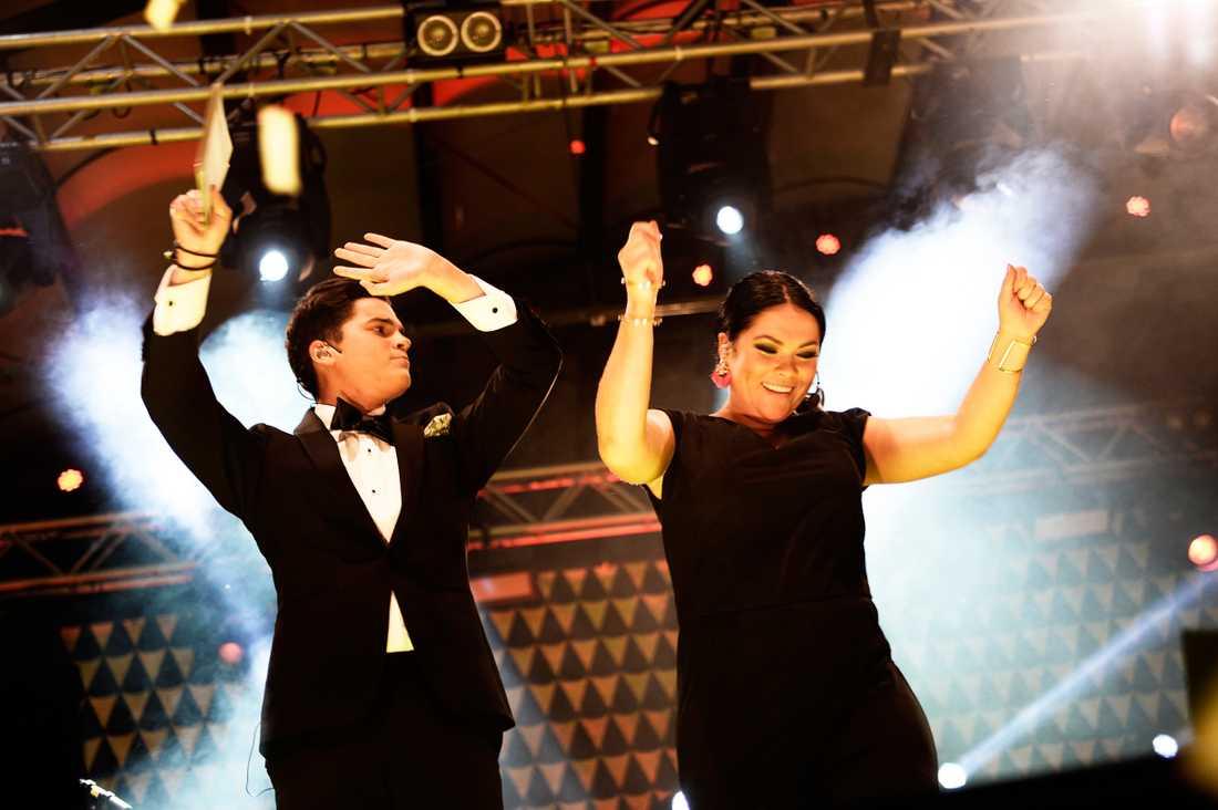I höstas ledde Frida Rockbjörnen-galan tillsammans med Oscar Zia.