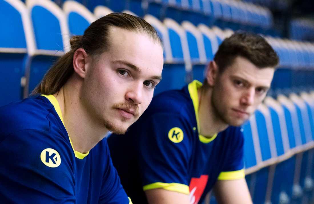 Lukas Nilsson och Niclas Ekberg