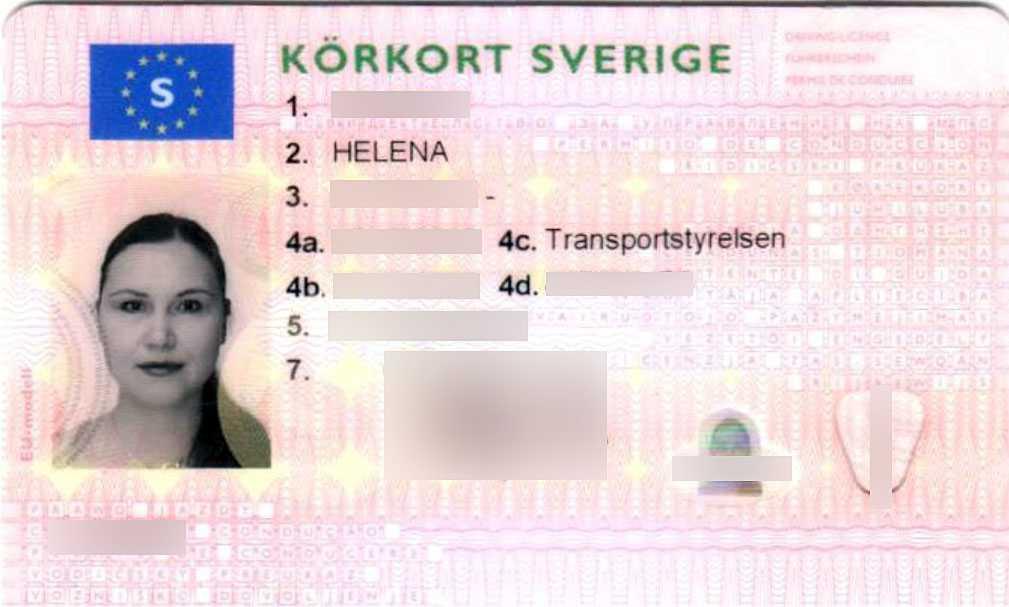 Helenas körkort.