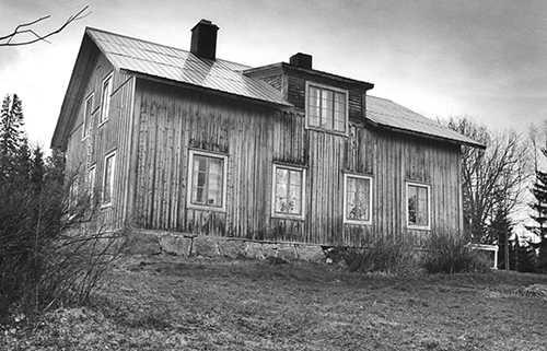 Prästgården i Borgvattnet, år 1987 Foto: PEDER MAJIET