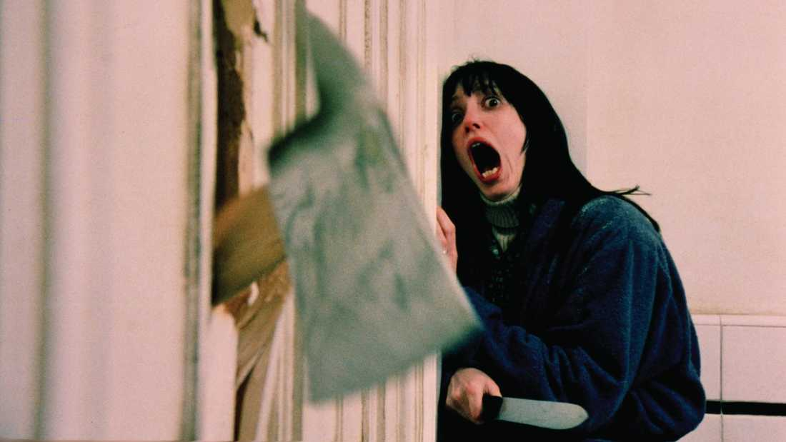 "Shelley Duvall i ""The shining""."