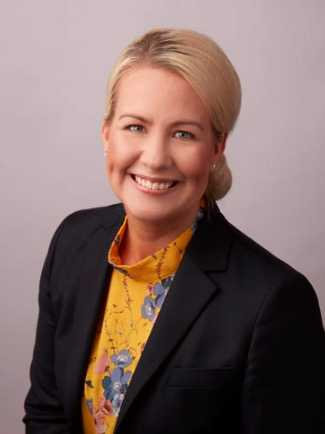 Anna Nordqvist, kommunalråd för Moderaterna i Degerfors.