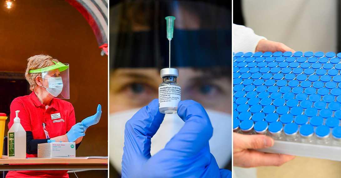 Grannlänens vaccinobalans –snabbast och långsammast i landet