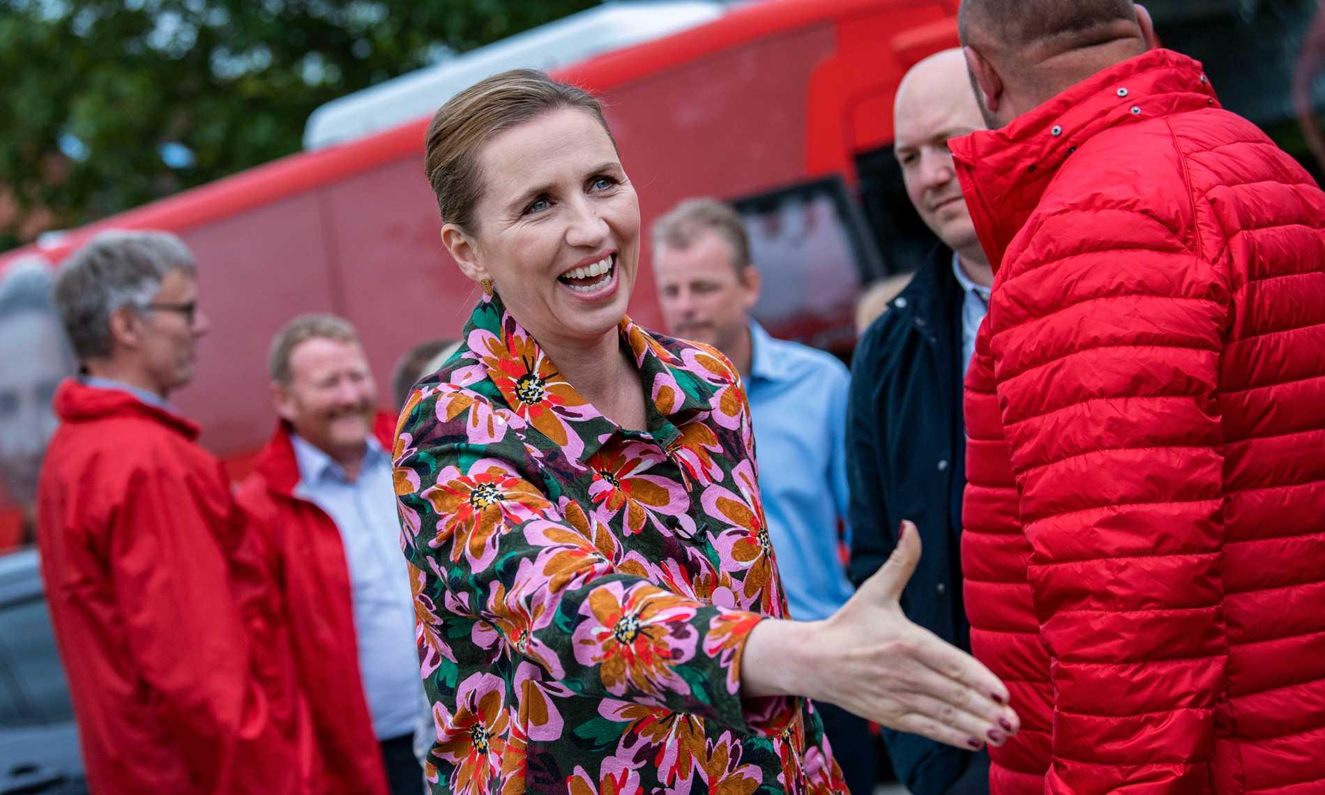 Socialdemokraternas partiledare Mette Frederiksen.