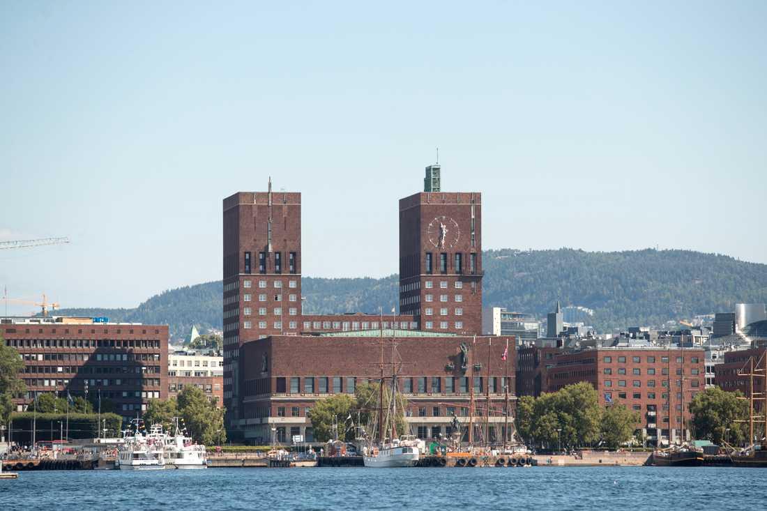 Fremskrittspartiets ordförande i Oslo är övertygad om att USA:s presidentval var riggat. Arkivbild av Oslo rådhus.