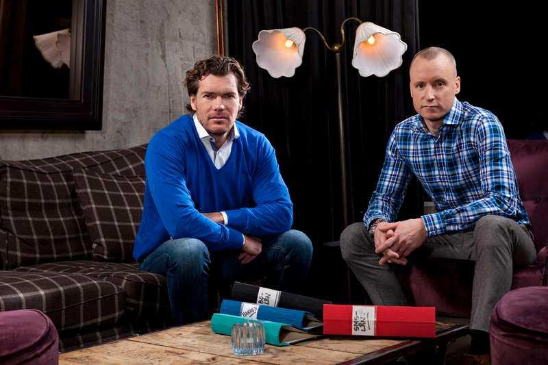 Patrik Grimlund och Magnus Hedberg från Lyxfällan.