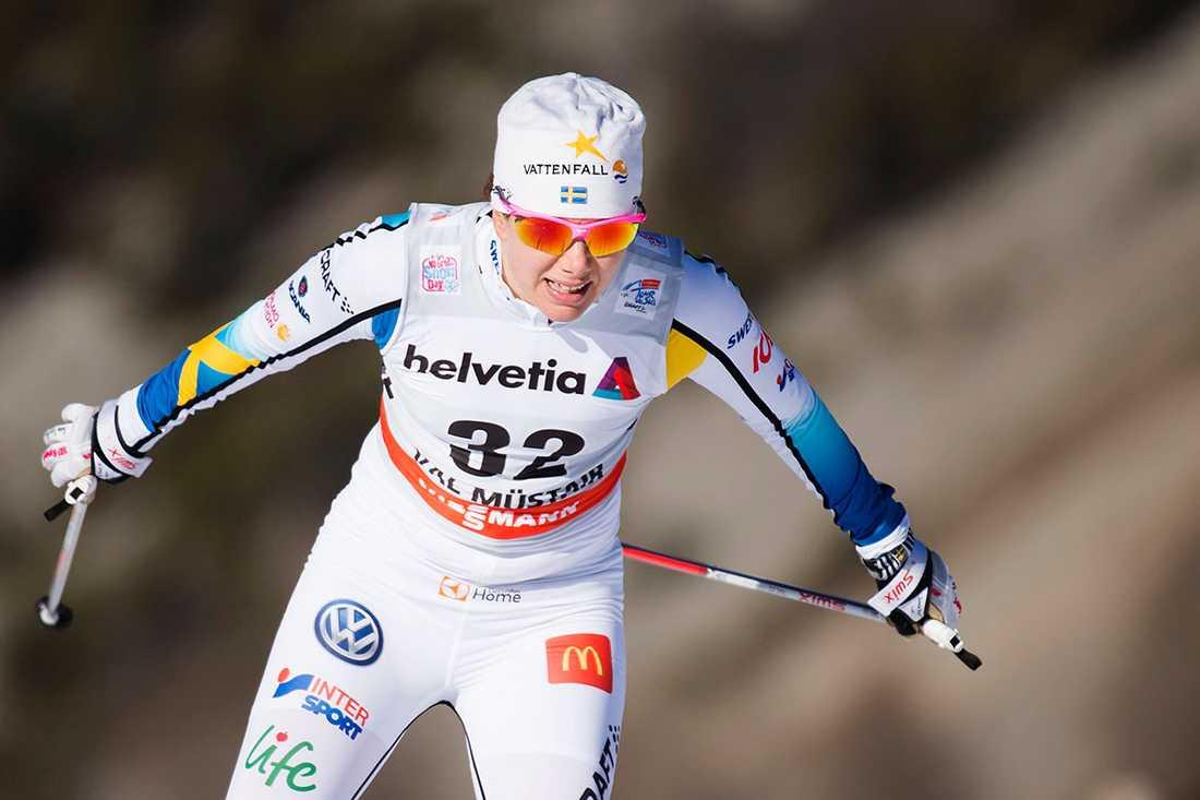 Sara Lindborg låg 25:a inför dagens deltävling – men nu åker hon hem.