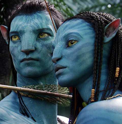"""""""Avatar"""" blev bästa film vid Golden Globe-galan."""