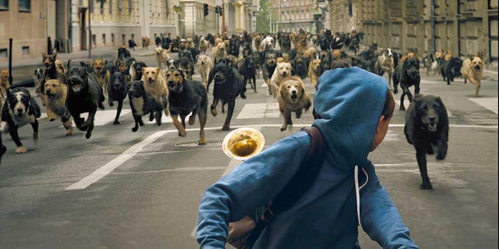 274 hundar var med under inspelningen av Revolten, som vann Un Certain Regard i Cannes.