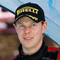 P-G Andersson får celebert besök, STCC-föraren Richard Göransson lånar P-G:s bil för att göra rallydebut.