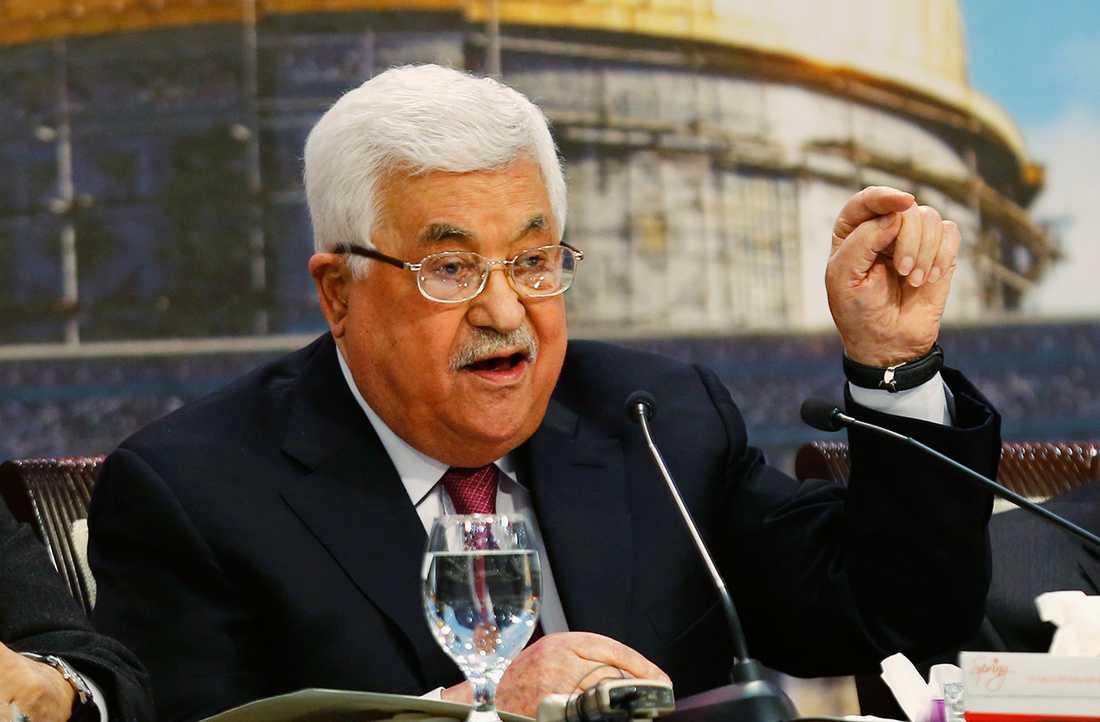 Palestinske presidenten Mahmoud Abbas.