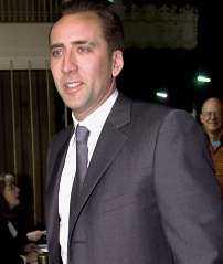 Nicholas Cage.