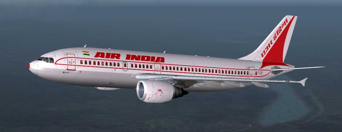 Incidenten skedde ombord ett Air India-plan (dock ej det på bilden).