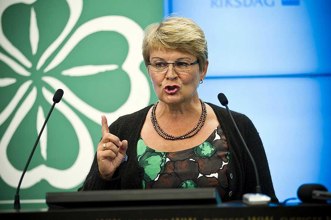 Maud Olofsson, dåvarande näringsminister.