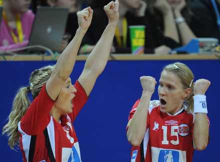 Norge blev Europamästare i handboll.