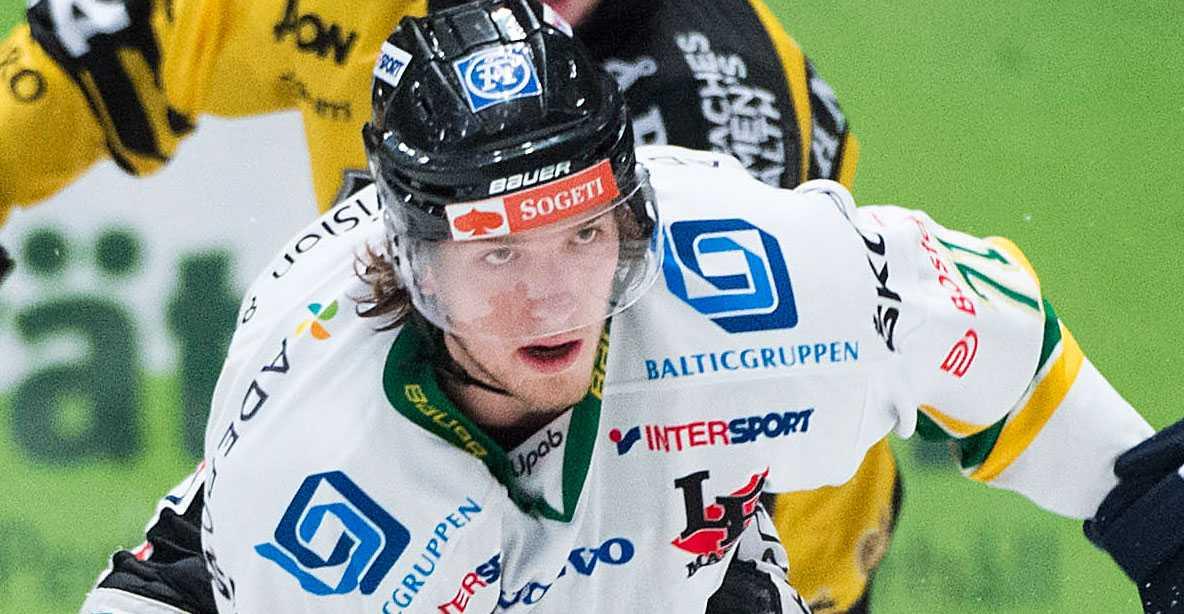 Henrik Nyberg satte spiken i kistan med 48 sekunder kvar.