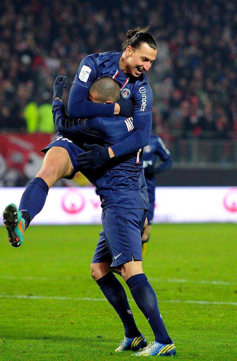 Tv-piratens kunder har kunnat se Zlatan i Champions league.