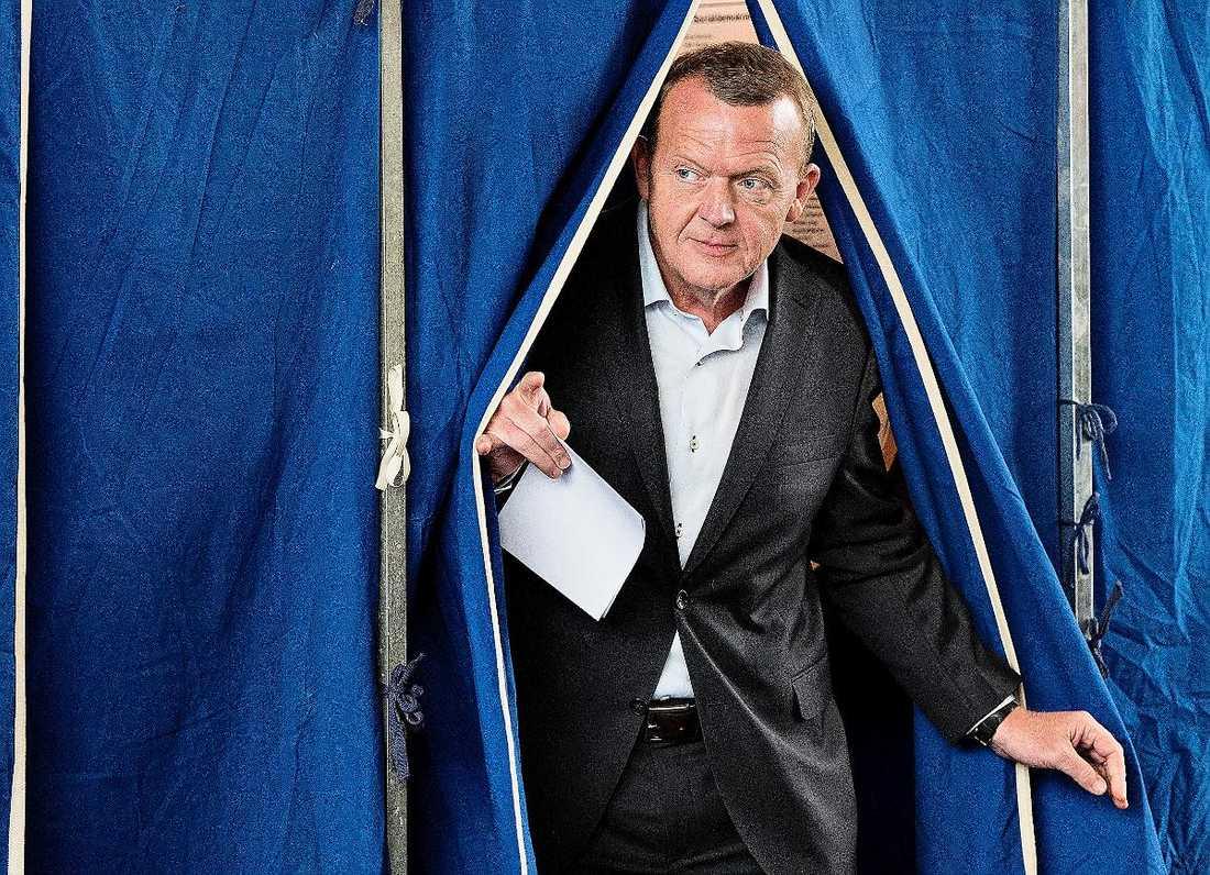 Venstres partiledare Lars Løkke Rasmussen kommer att bilda regering.