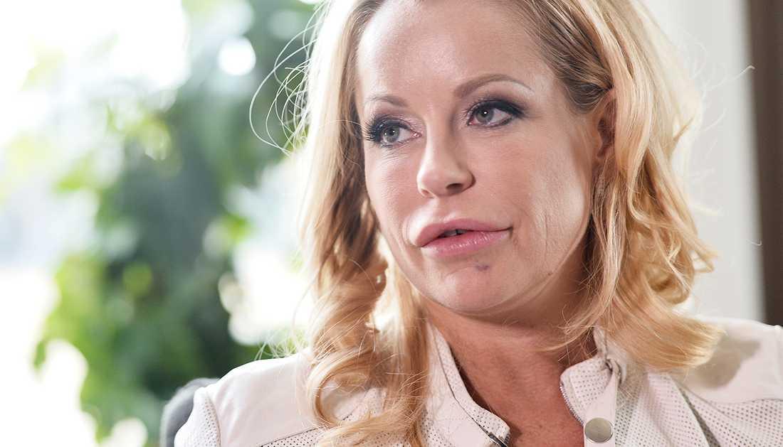 """Åsa Vesterlund är inte med i årets säsong av """"Svenska Hollywoodfruar""""."""