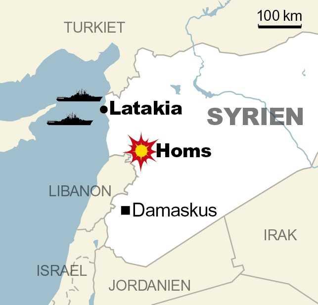 Ryskt attackflyg slog till mot mål i bland annat Homs. Där finns en rad rebellgrupper, I området finns dock inga IS-styrkor.
