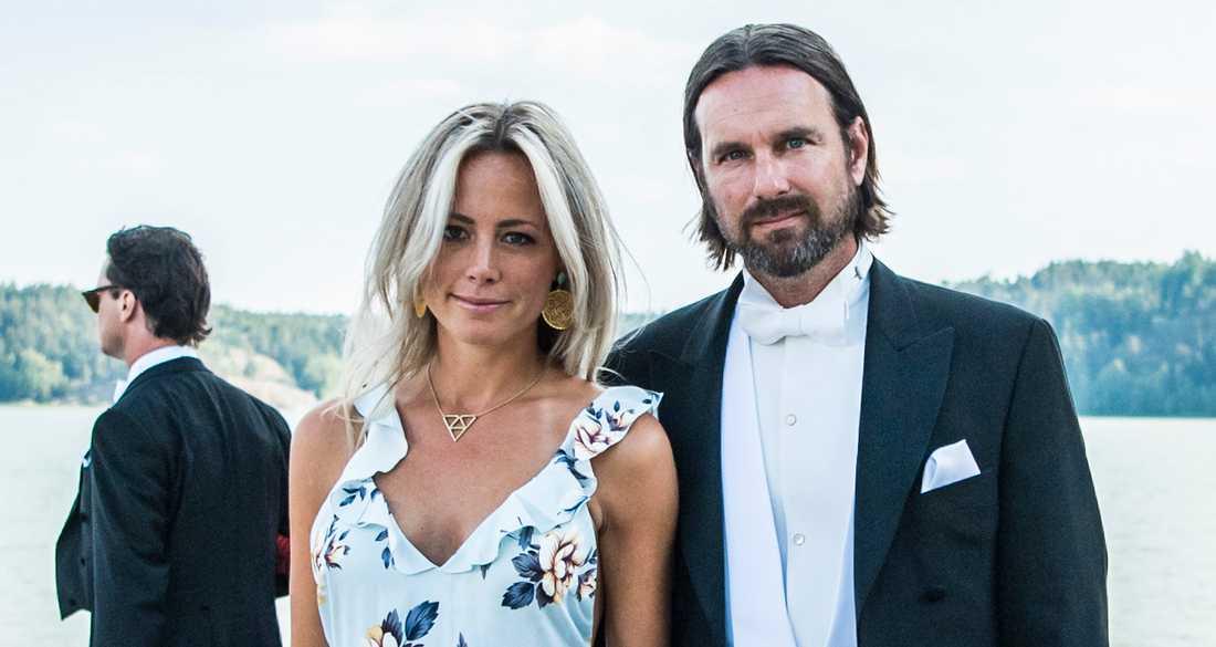 Carolina Neurath med maken Niclas Engsäll