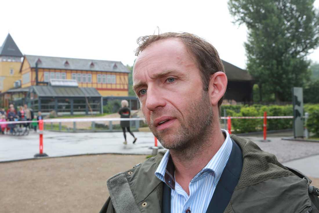 Steffen Stræde, direktör på Köpenhamns zoo.