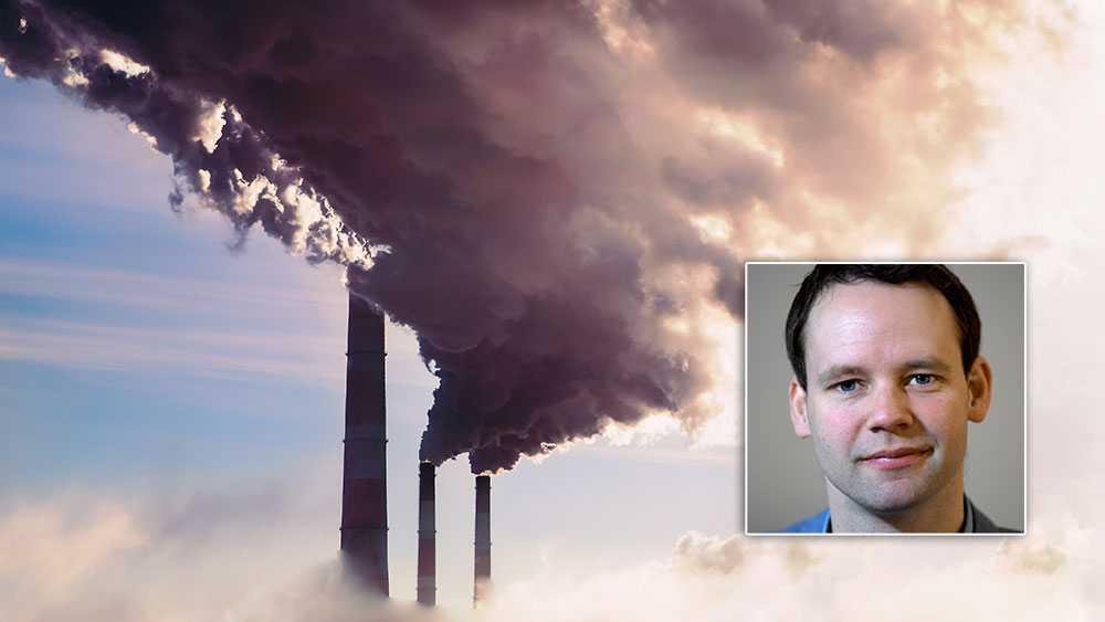 När Isabella Lövin (MP) säger att lösningen med att fånga in koldioxid bara kan vara ett komplement missar hon målet. Vi kommer behöva alla tillgängliga tekniker som minskar våra utsläpp – det inkluderar minusutsläpp där potentialen är enorm, skriver  Rickard Nordin (C).