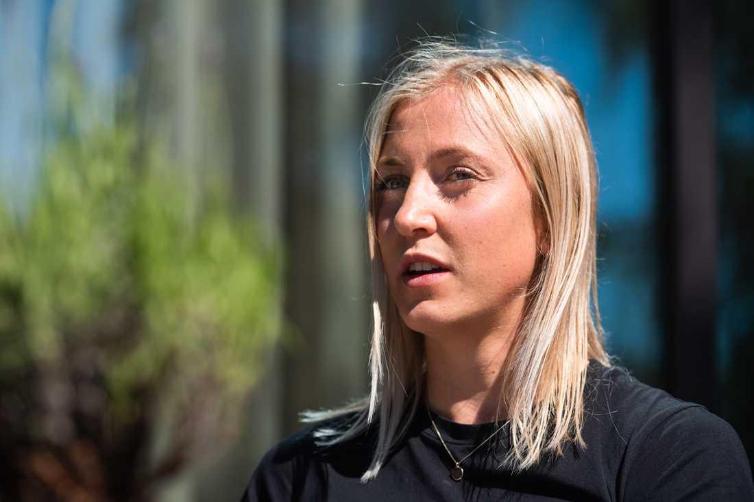 Julia Karlernäs är stjärnan som valde att bli kvar i Norrbotten.