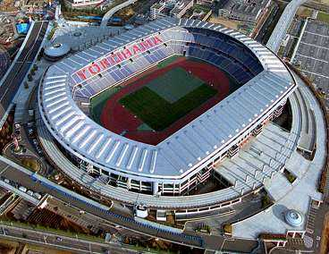FINALARENAN Stad: Yokohama. Arena: International Yokohama Stadium. Publikkapacitet: 72000.