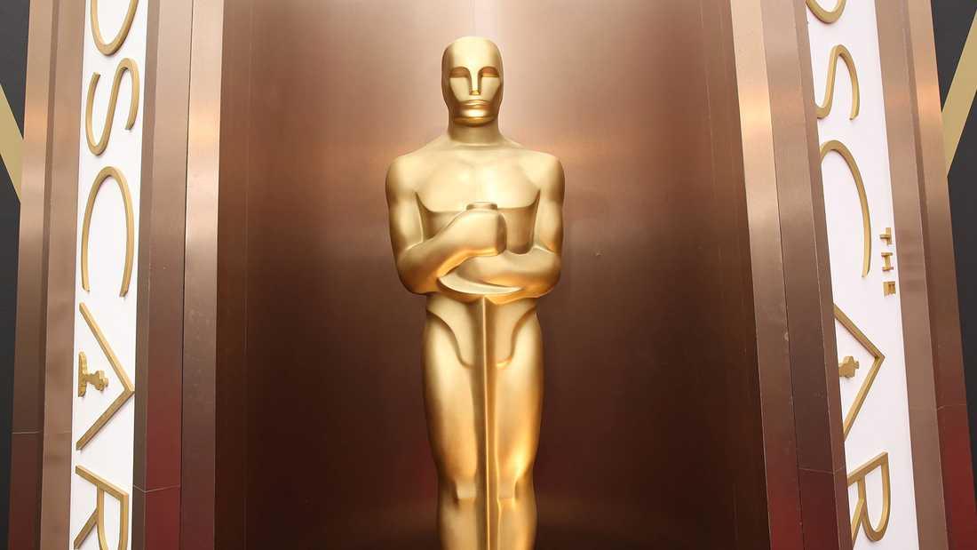 Den åtråvärda Oscarstatyetten.
