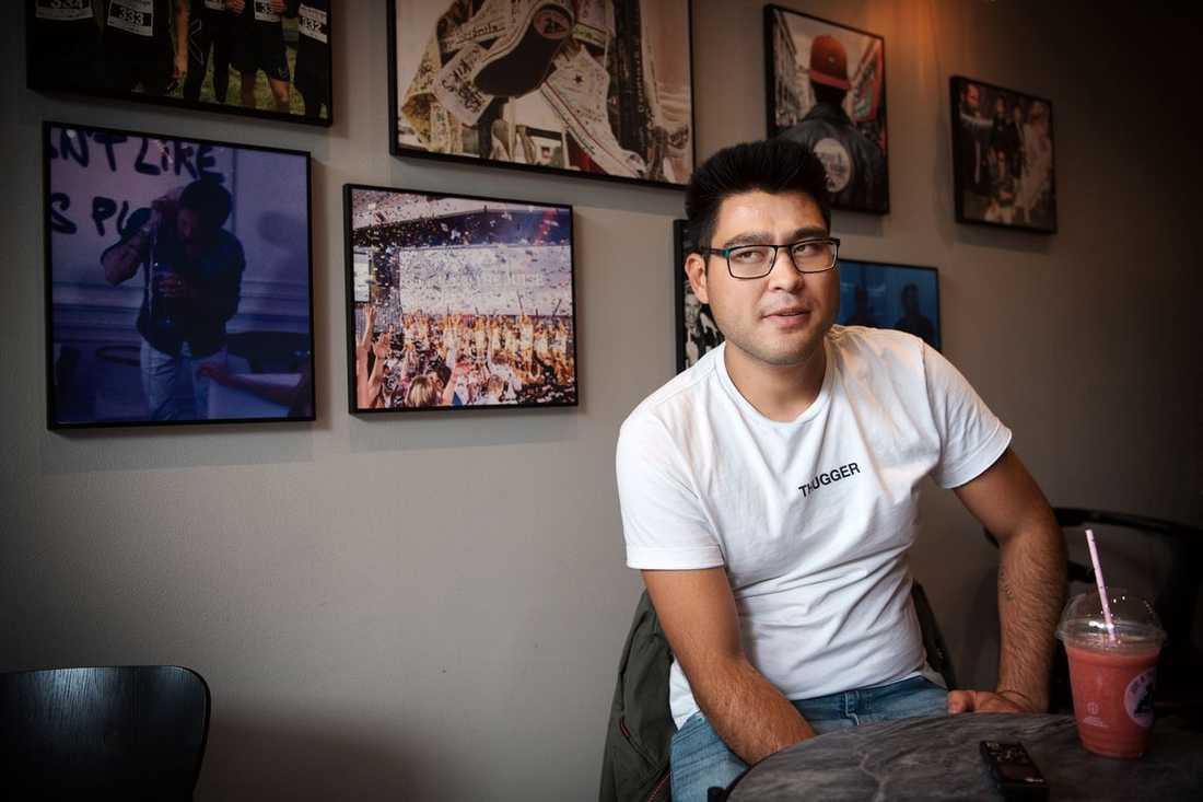 Mohammed tog examen från vuxenutbildningen den 19 juni.