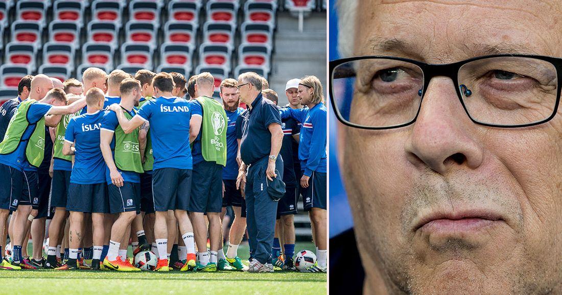 Eidur Gudjohnsen avslöjar Lars Lagerbäcks ord innan åttondelsfinalen ... 499652b01fec5
