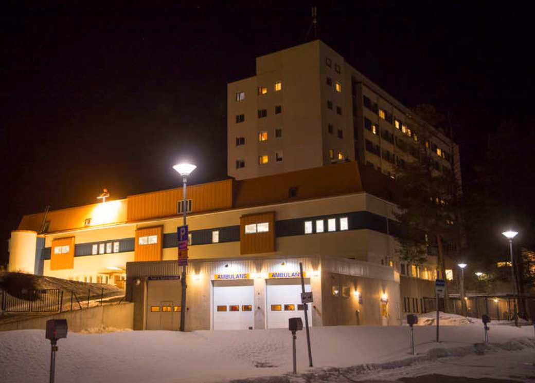 Lycksele sjukhus.