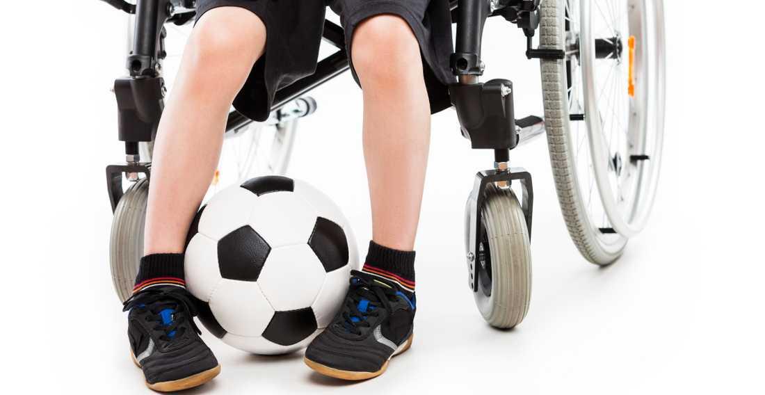 Alla barn har rätt att spela fotboll.