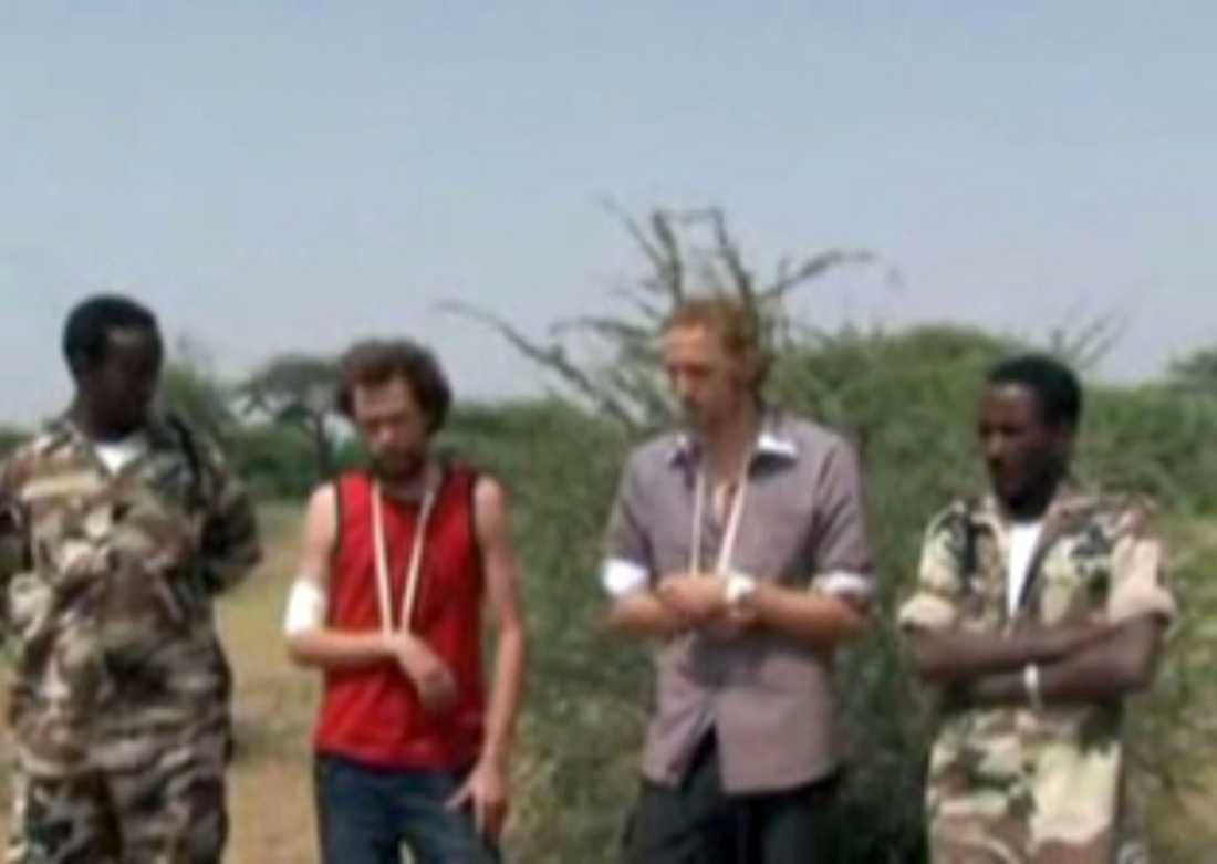 Johan Persson och Martin Schibbye greps den 1 juli 2011 av Etiopisk militär misstänkta för terrorism.