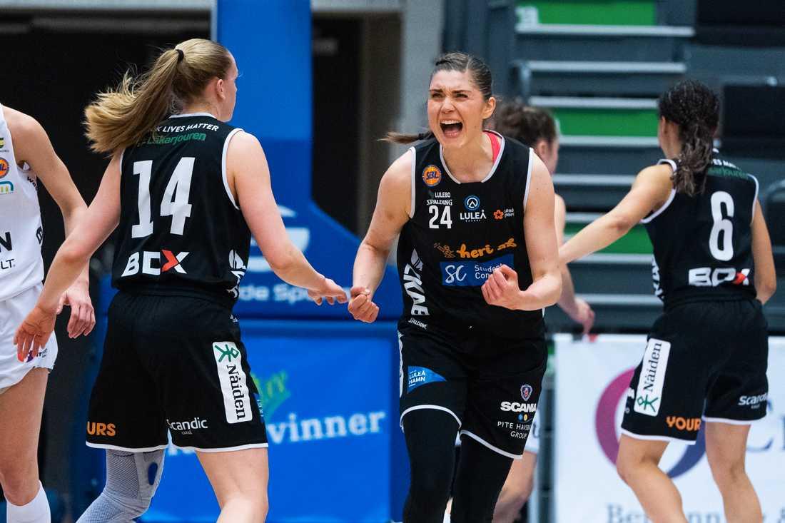Basketligan för damer utökas från 12 till 14 lag. På bilden Luleås Josefin Vesterberg.