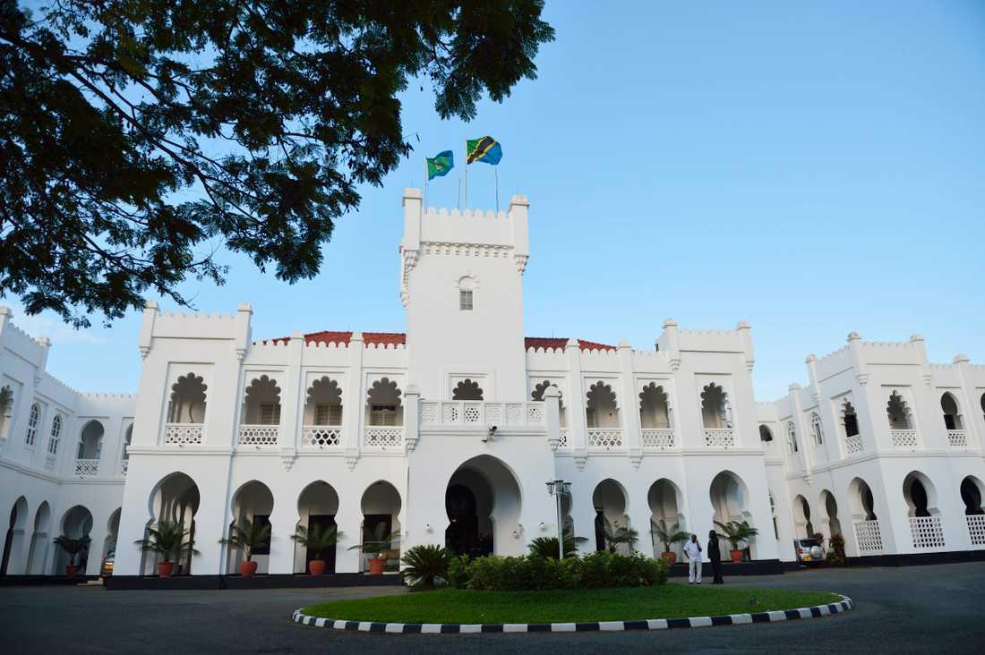 Rätten har sagt sitt: barnäktenskap är inte tillåtet i Tanzania. På bilden presidentpalatset i Dar es-Salaam. Arkivbild.
