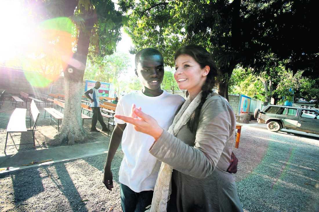 Edens och Carola på Haiti