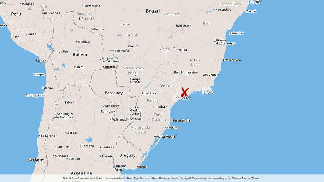 En dödlig bussolycka har inträffat nära den brasilianska staden Balneário Camboriú söder om storstaden São Paulo.
