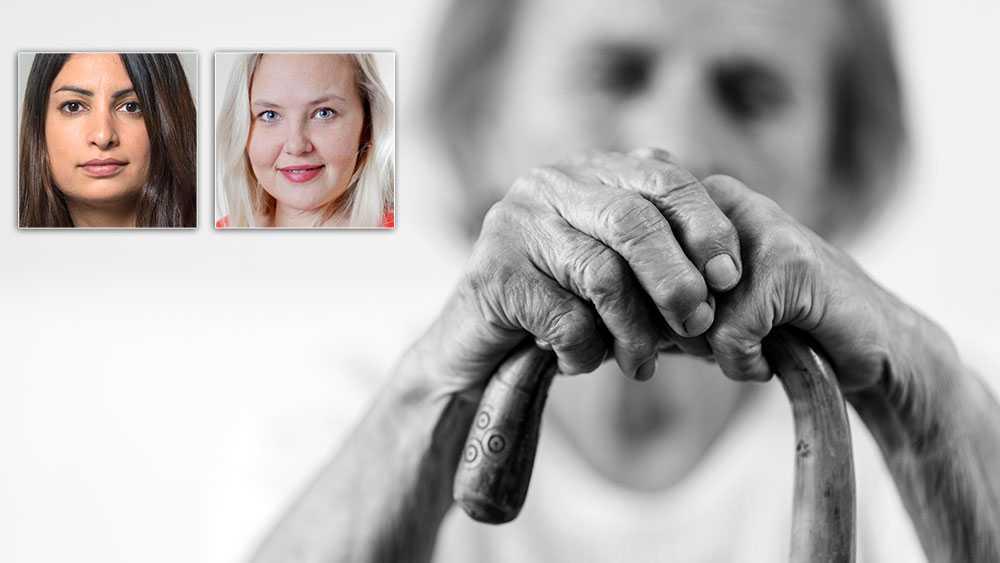 Vi svenskar arbetar i dag längst i hela EU. Samtidigt ligger vi i botten när det gäller nivån på pensionerna. Vi har störst andel fattigpensionärer i Norden. Nära hälften av alla kvinnor som är ålderspensionärer i dag har garantipension, skriver Nooshi Dadgostar och Ida Gabrielsson, Vänsterpartiet.