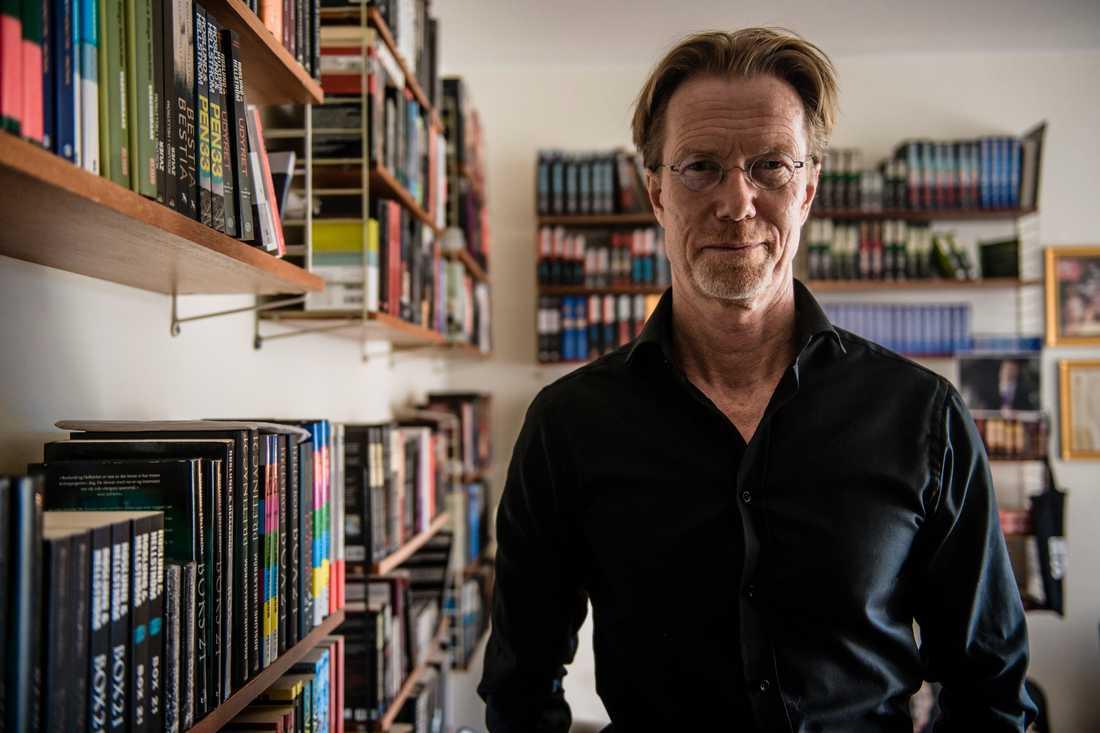 Anders Roslund berättar om brott i Stockholm och världen. Arkivbild.