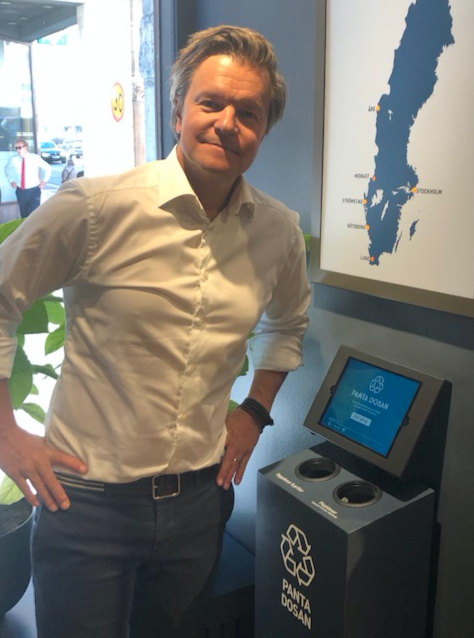 Patrik Hildingsson, kommunikationsansvarig på Swedish Match