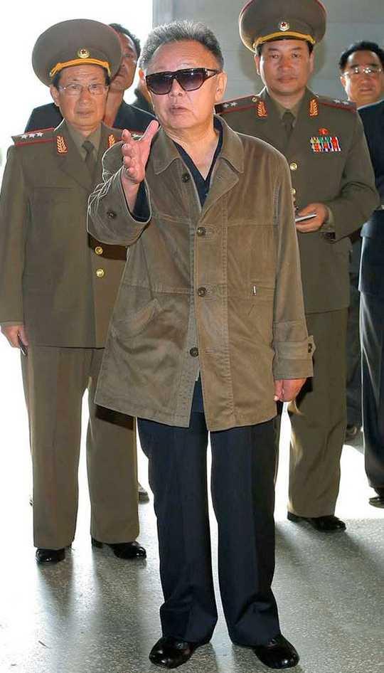 Nordkoreas enväldige ledare Kim Jong-Il.
