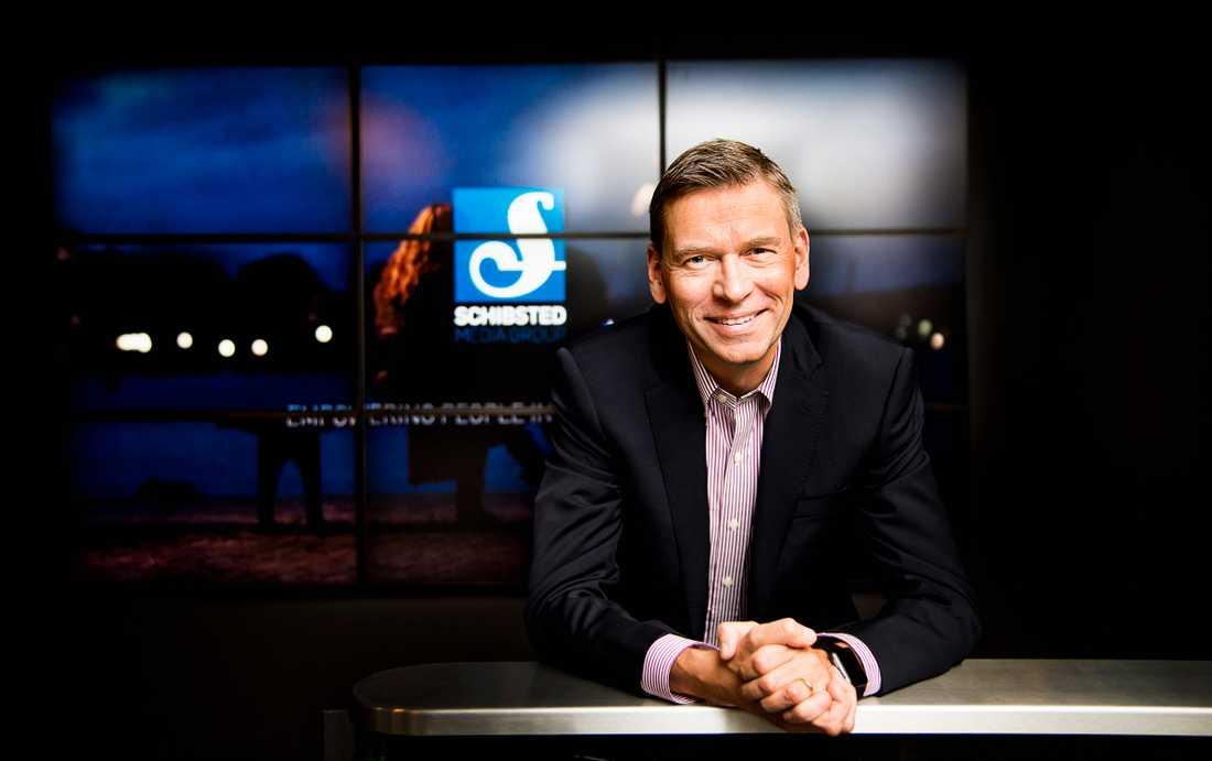Raoul Grünthal, chef för Schibsted Media