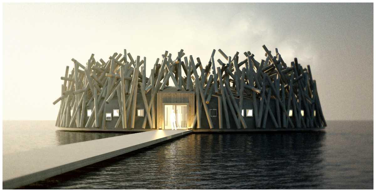 Arctic Bath blir Sveriges nya flytande hotell.