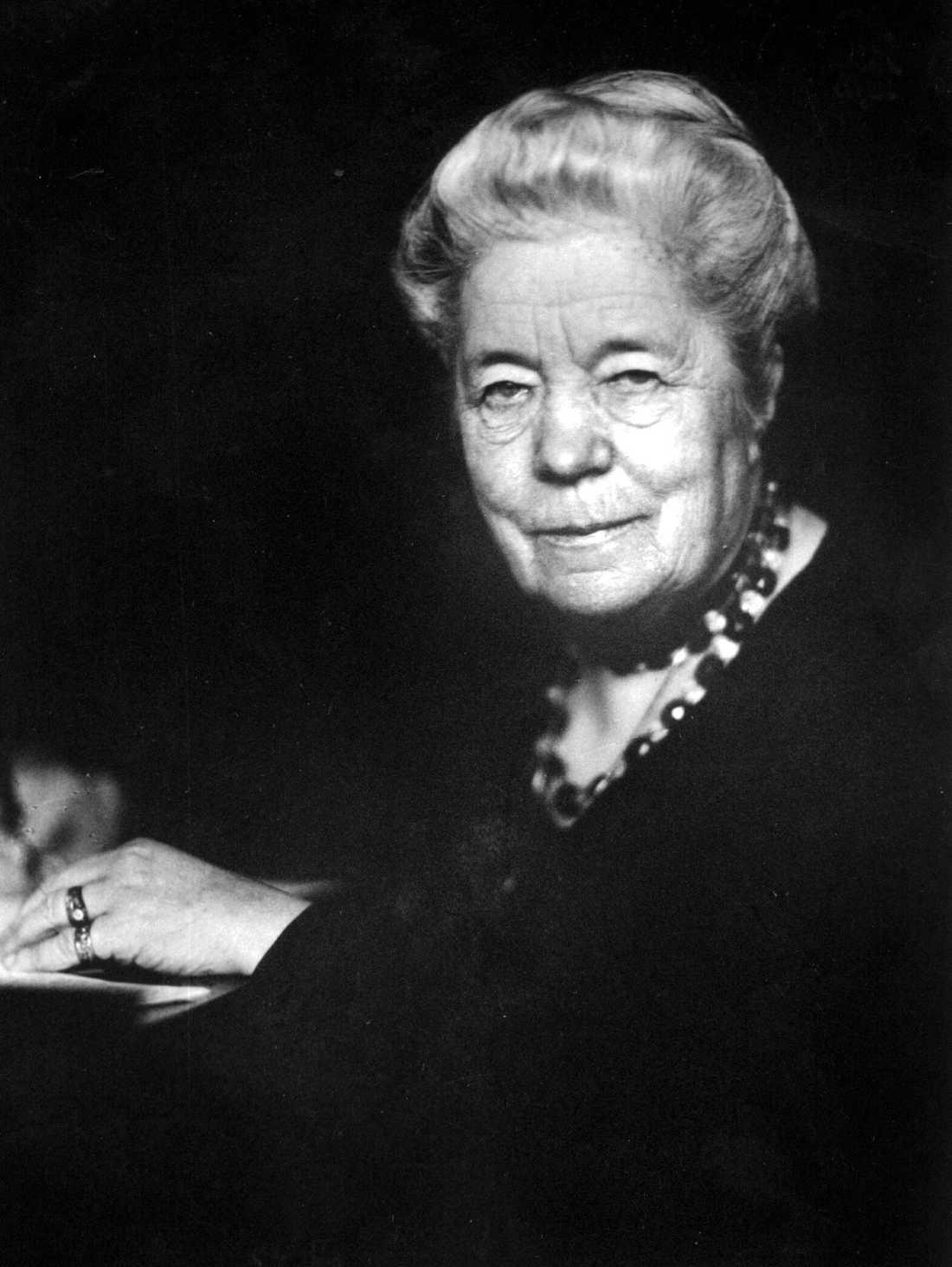 Selma Lagerlöf. Foto: TT