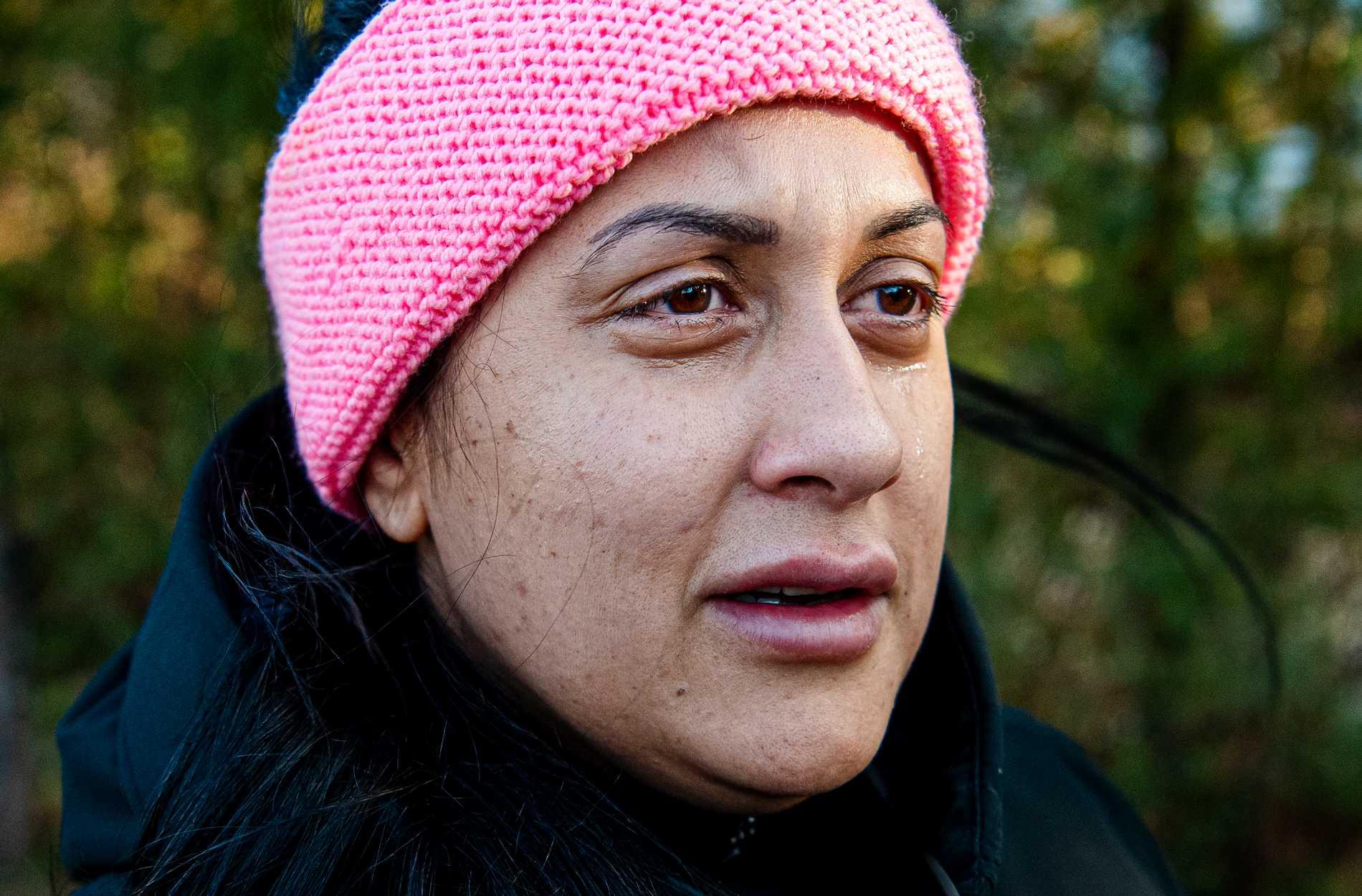 Sandra Bhatti hoppas att ingen annan ska behöva vara med om samma sak.