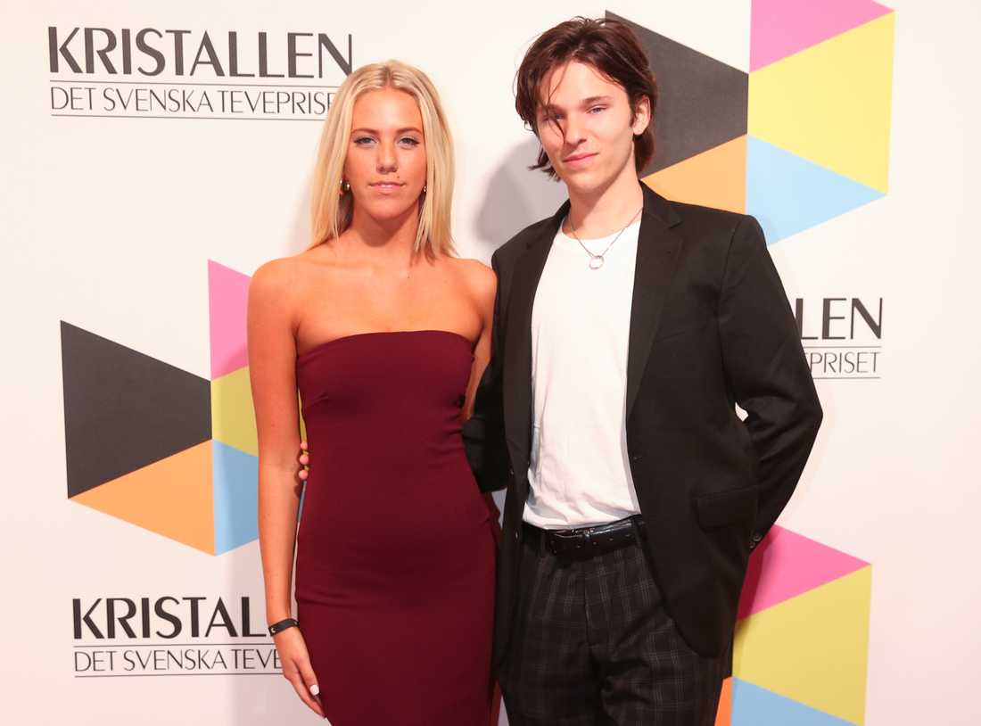 Philippa Parnevik och Harrison Chandon på Kristallen förra året.
