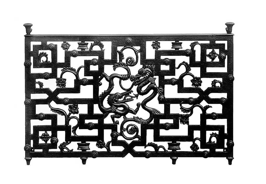 Balkongräcke av Harald Wadsjö från 1925.